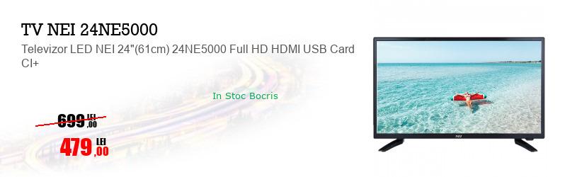 """Televizor LED NEI 24""""(61cm) 24NE5000 Full HD HDMI USB Card CI+"""