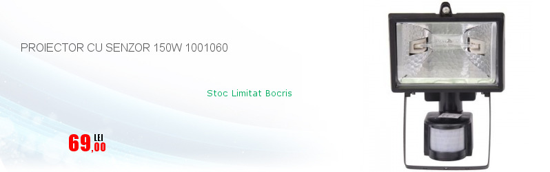 PROIECTOR CU SENZOR 150W 1001060