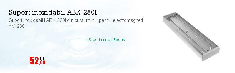 Suport inoxidabil I ABK-280I din duraluminiu pentru electromagneti YM-280