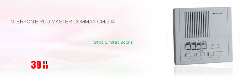 INTERFON BIROU MASTER COMMAX CM-204