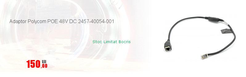 Adaptor Polycom POE 48V DC 2457-40054-001