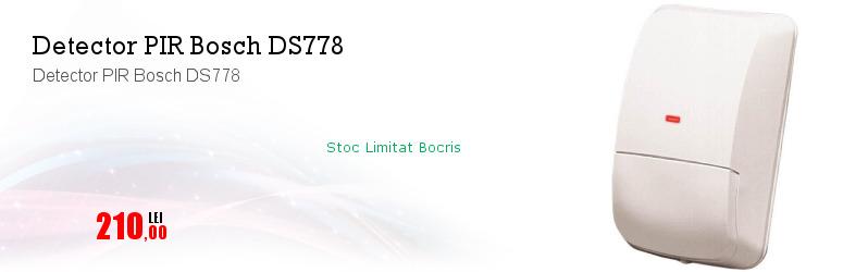 Detector PIR Bosch DS778