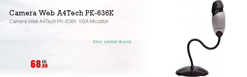 Camera Web A4Tech PK-636K VGA Microfon