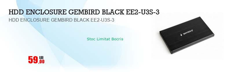 HDD ENCLOSURE GEMBIRD BLACK EE2-U3S-3