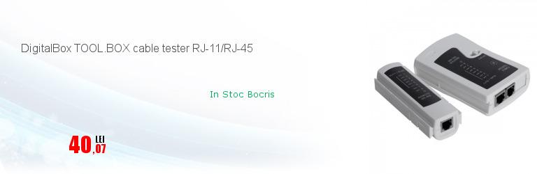 DigitalBox TOOL.BOX cable tester RJ-11/RJ-45