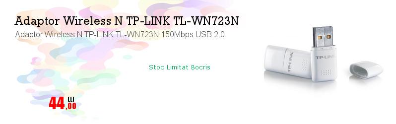 Adaptor Wireless N TP-LINK TL-WN723N 150Mbps USB 2.0