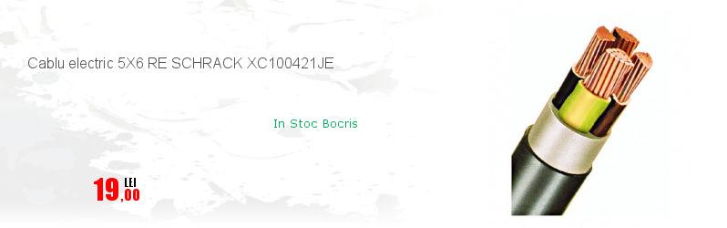 Cablu electric 5X6 RE SCHRACK XC100421JE