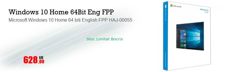 Microsoft Windows 10 Home 64 biti English FPP HAJ-00055