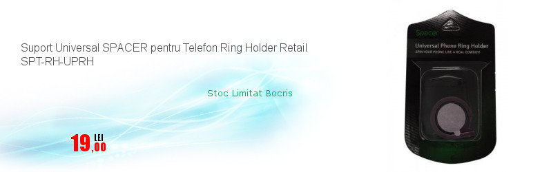 Suport Universal SPACER pentru Telefon Ring Holder Retail SPT-RH-UPRH
