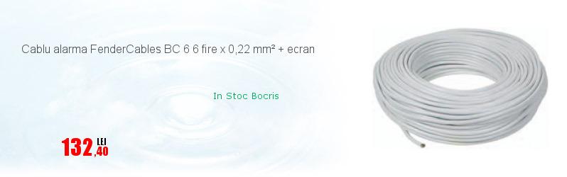 Cablu alarma FenderCables BC 6 6 fire x 0,22 mm² + ecran